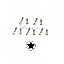 iPhone 5 / 5S / SE Bottom Screw (10 Set) - Gold